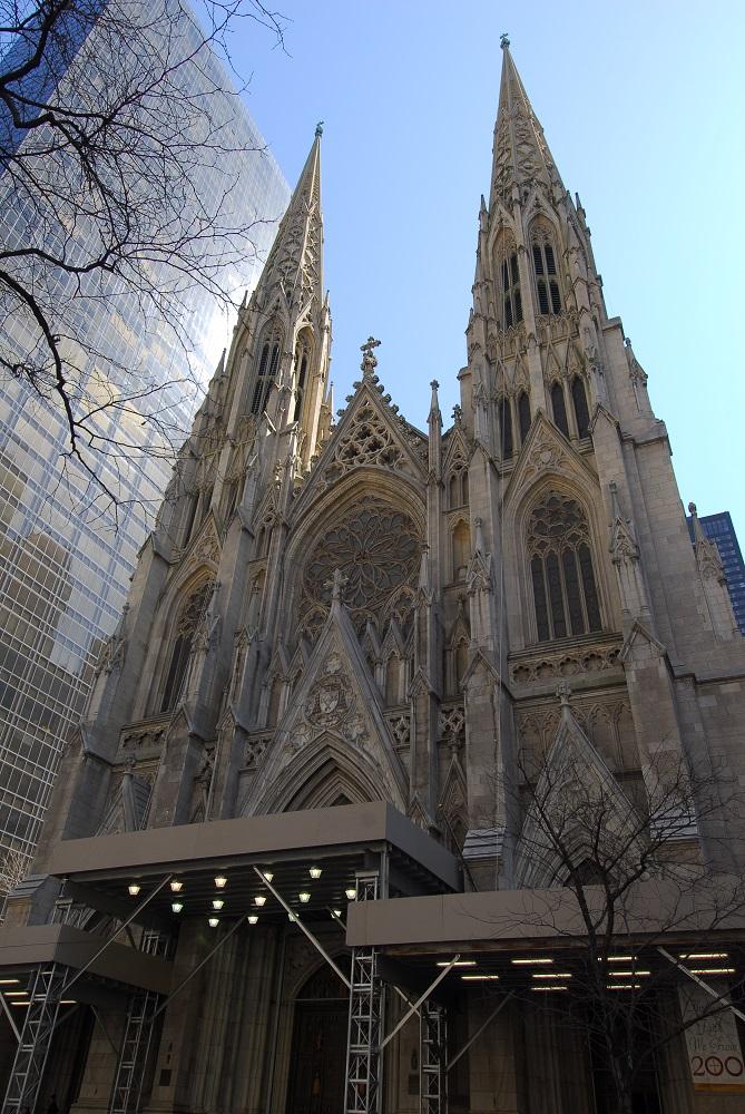 紐約/第五大道/絕美教堂/聖派翠克大教堂/天主教紐約總教區主教座堂