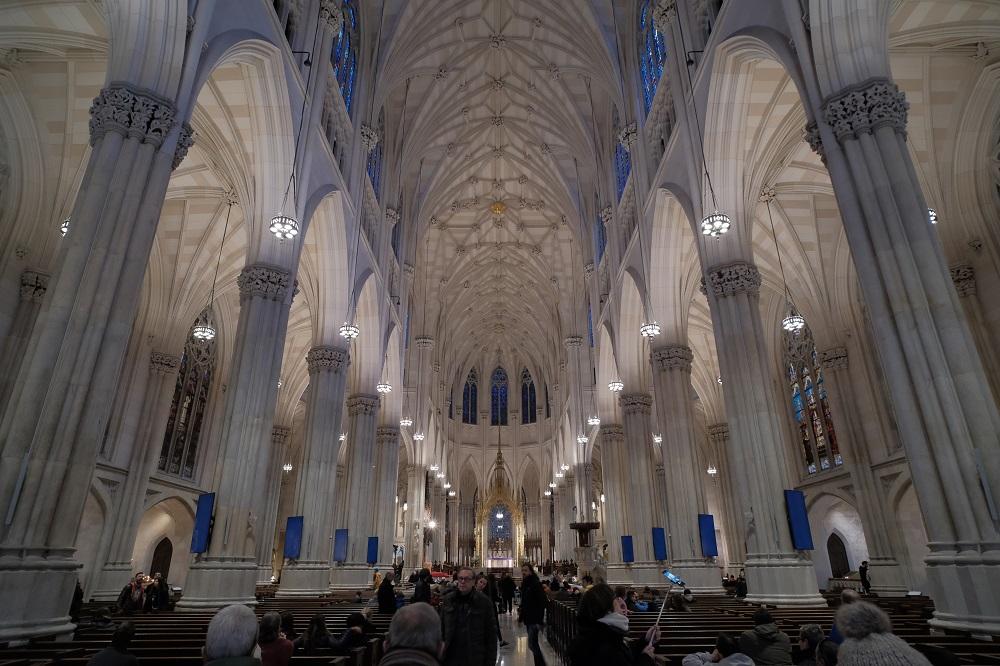紐約/洛克斐勒中心/絕美教堂/聖派翠克大教堂/哥德式拱頂