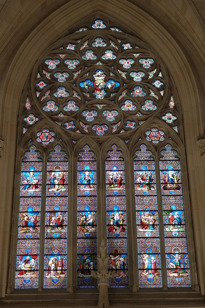 紐約/絕美教堂/聖派翠克大教堂/彩繪玻璃