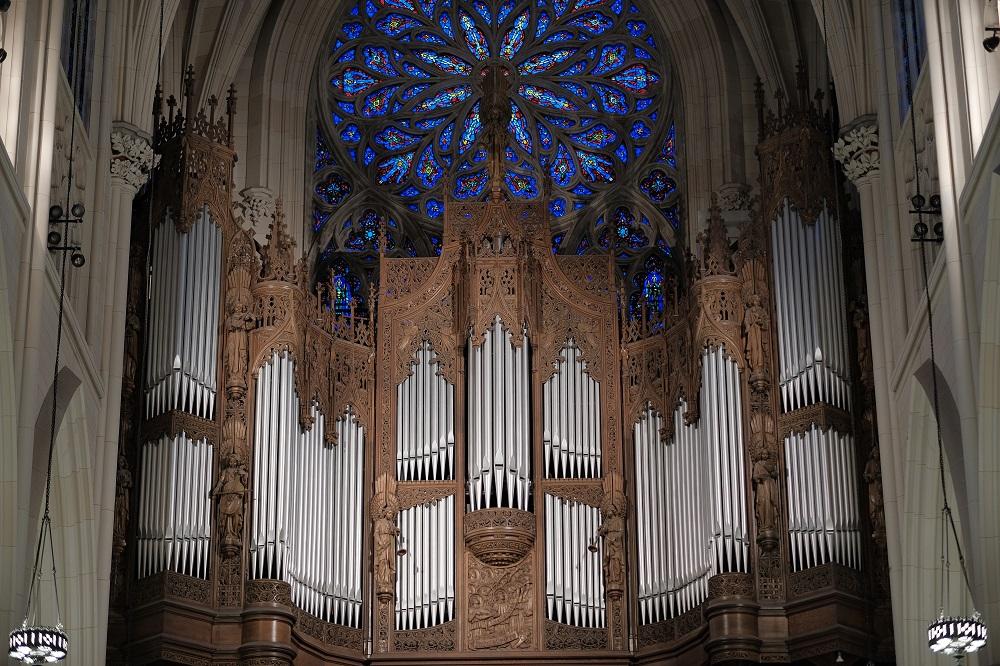 紐約/絕美教堂/聖派翠克大教堂/管風琴