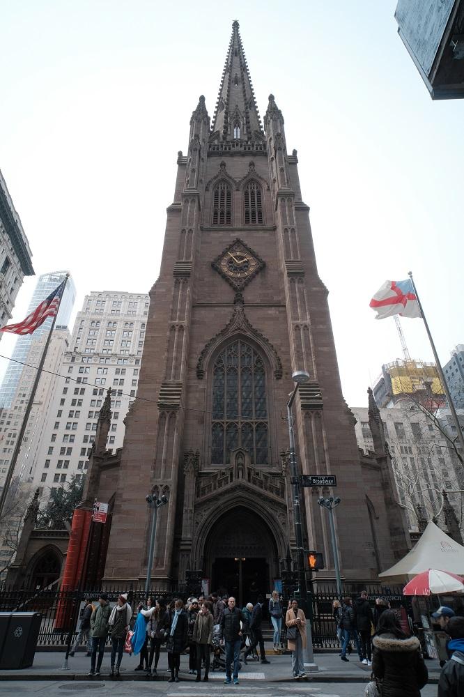 紐約/三一教堂/絕美教堂/哥德式教堂