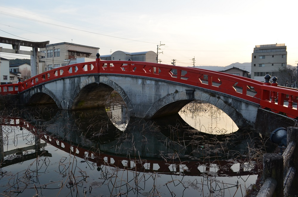 九州/熊本/人吉/青井阿蘇神社/橋