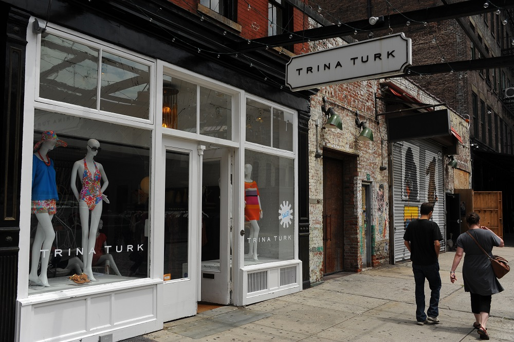 曼哈頓/紐約/肉品包裝區/精品區/TRINA TURK