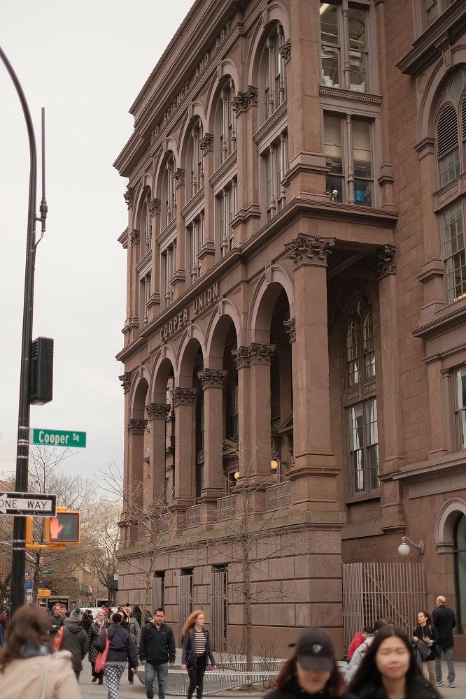 曼哈頓/紐約/阿斯特廣場/庫柏學院