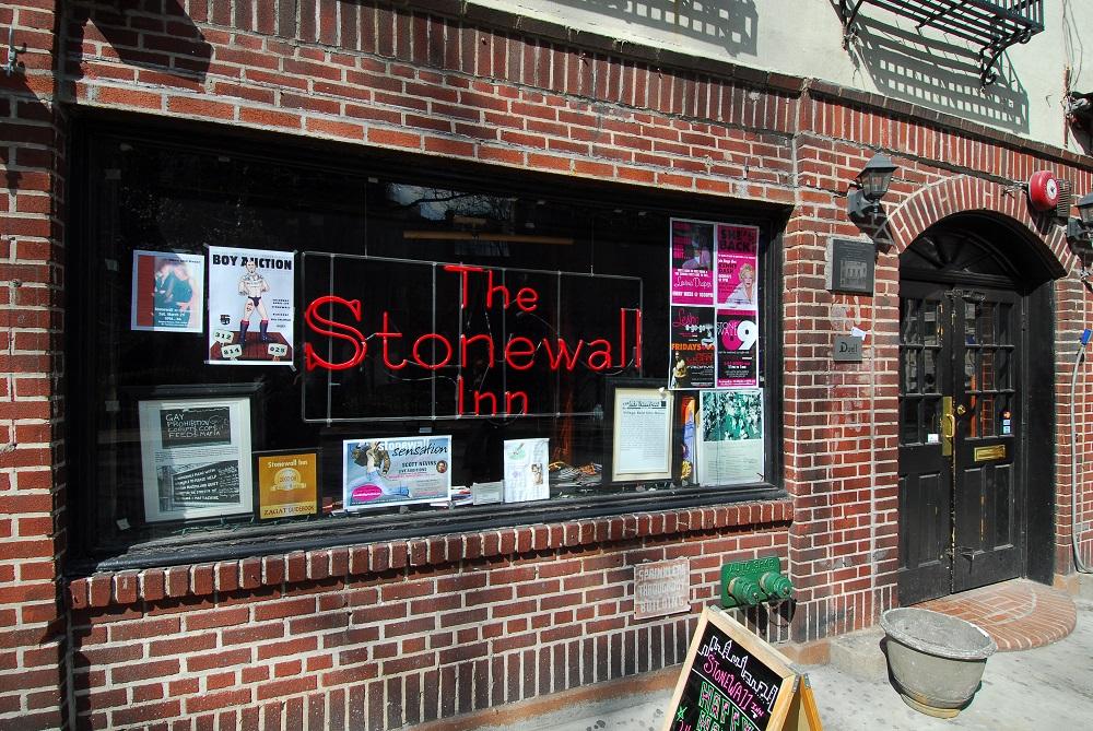 曼哈頓/紐約/石牆酒吧舊址/石牆騷動事件/同性戀抗議