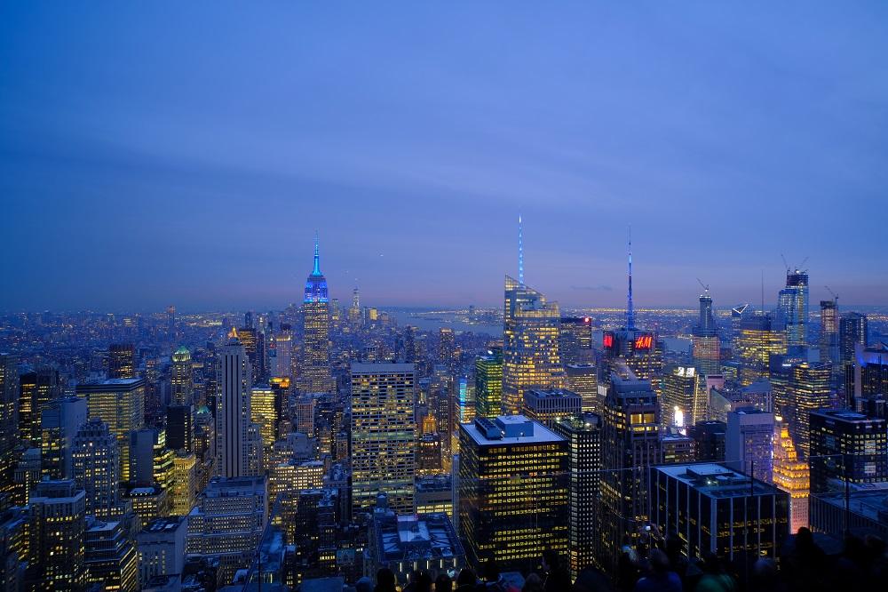 紐約/洛克斐勒中心/洛克之巔觀景台/曼哈頓之最