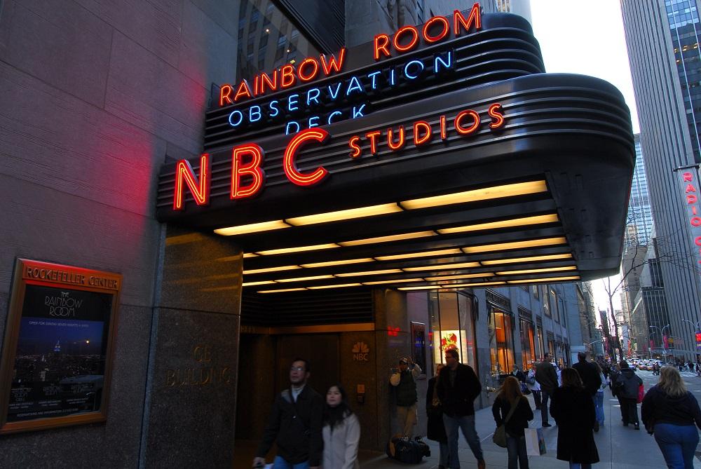美國/紐約/曼哈頓/洛克斐勒中心/康卡斯特大樓/NBC總部
