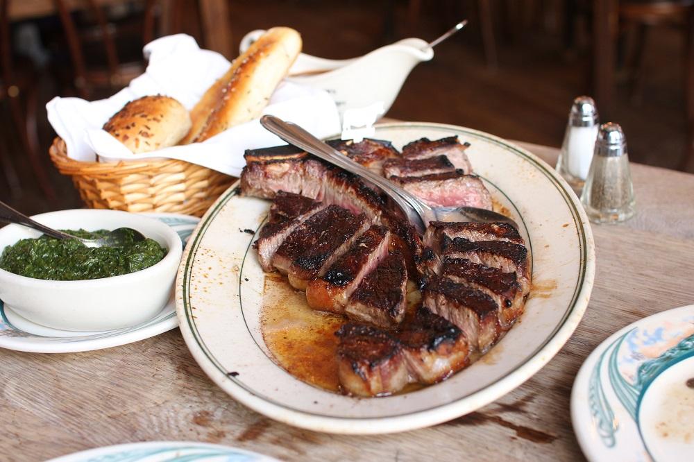 紐約/米其林餐廳/Peter Luger Steak House/百年老店/牛排館