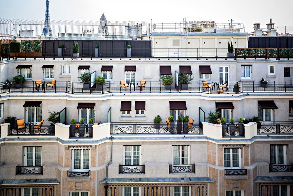 外觀/巴黎德加勒王子酒店/設計飯店/花都/巴黎/法國