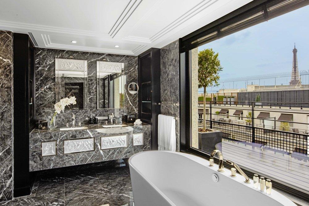 浴室/巴黎德加勒王子酒店/設計飯店/花都/巴黎/法國
