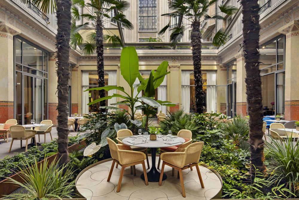 Le Patio/餐廳/巴黎德加勒王子酒店/設計飯店/花都/巴黎/法國