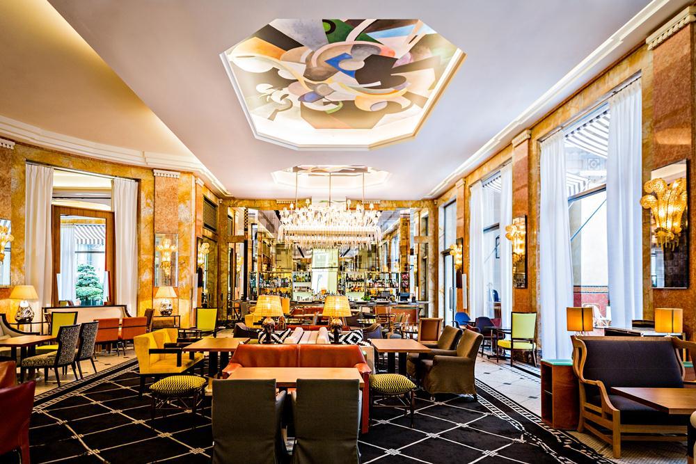 Bar Les Heures/餐廳/巴黎德加勒王子酒店/設計飯店/花都/巴黎/法國