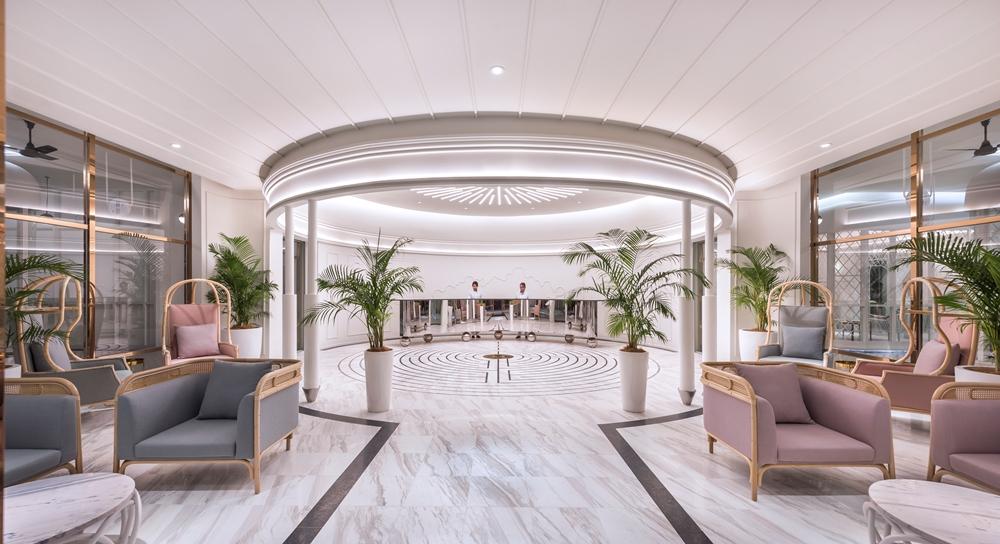 大廳/The Prestige Hotel/純白系飯店/世界文化遺產之城/喬治城/馬來西亞