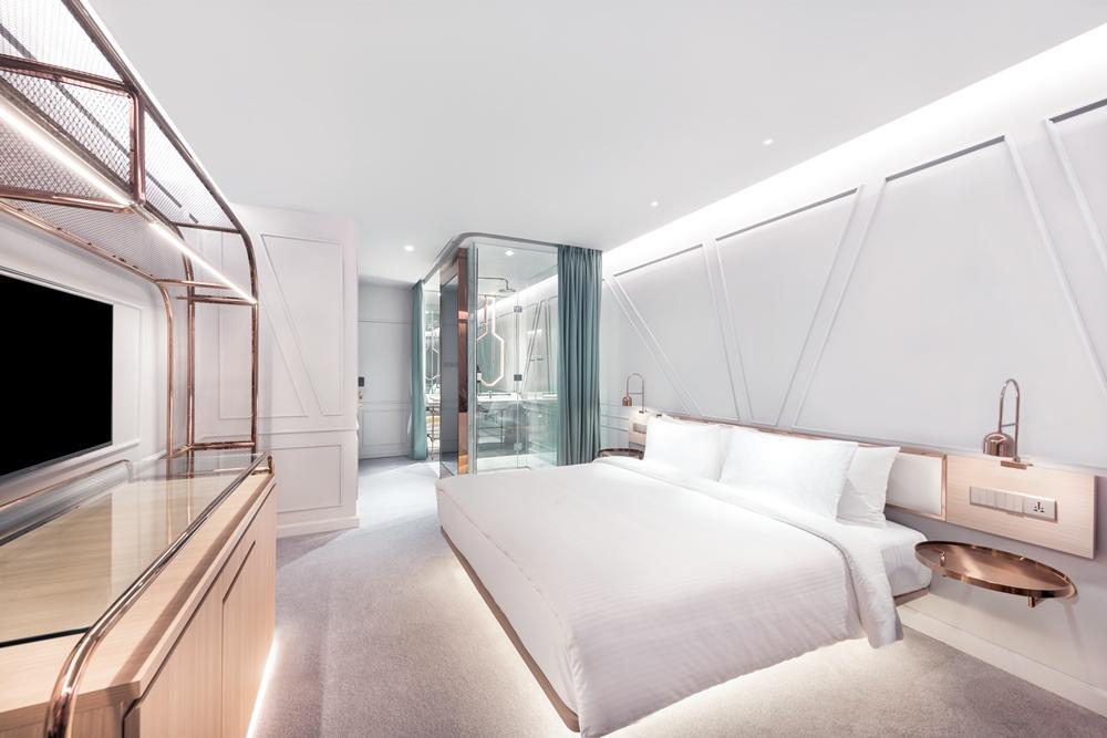 套房/The Prestige Hotel/純白系飯店/世界文化遺產之城/喬治城/馬來西亞
