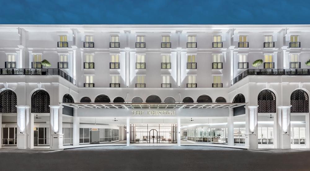 外觀/The Prestige Hotel/純白系飯店/世界文化遺產之城/喬治城/馬來西亞