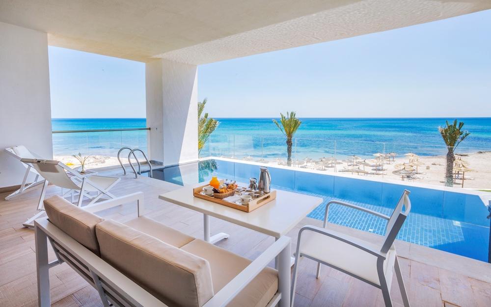 泳池/La Badira/絕景飯店/天空之境/突尼西亞