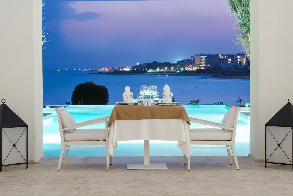 餐廳/La Badira/絕景飯店/天空之境/突尼西亞