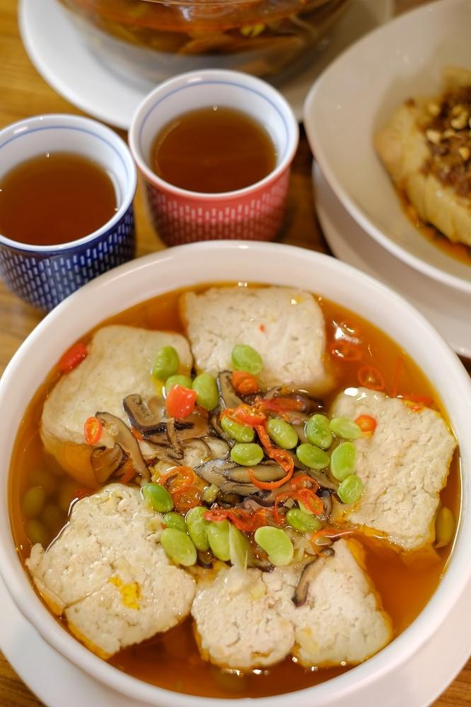 台北米其林/松山區/祥和蔬食/素食/川菜/清蒸臭豆腐