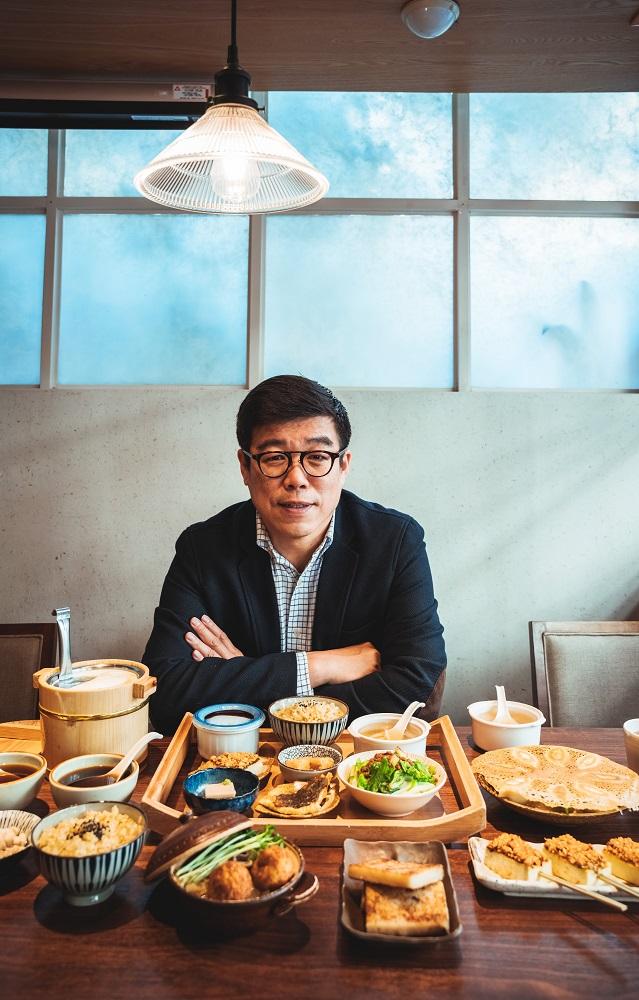 台北米其林認證/上善豆家/人氣蔬食餐廳/善果餐飲執行長嚴心鏞