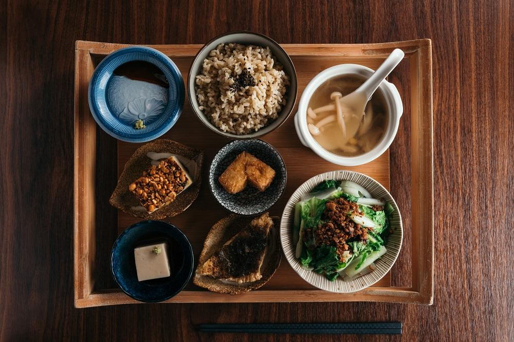 台北米其林認證/上善豆家/人氣蔬食餐廳/豆全席