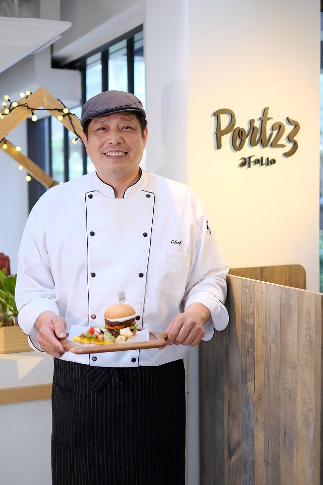 台北/大安區/Port23@Folio/未來肉/水耕蔬菜漢堡
