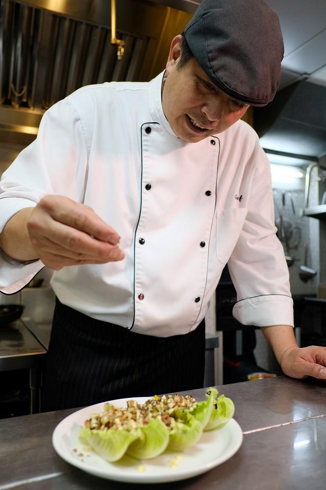 台北/大安區/Port23@Folio/未來肉/新鮮蘿蔓襯繽紛蔬食
