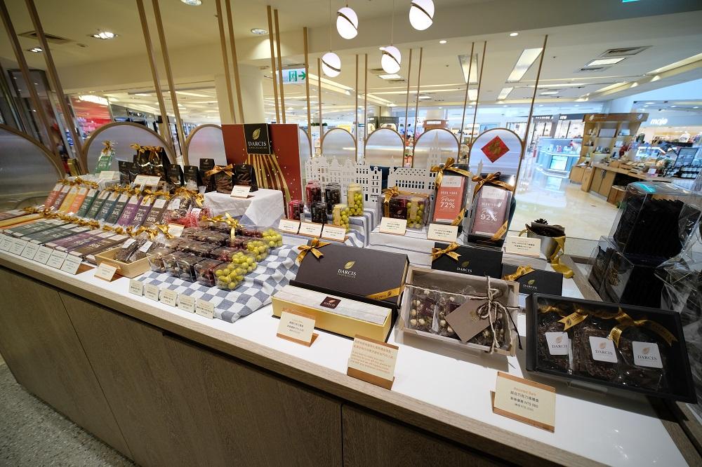 台北/微風廣場/未來肉/DARCIS Café/比利時頂級手工巧克力 DARCIS