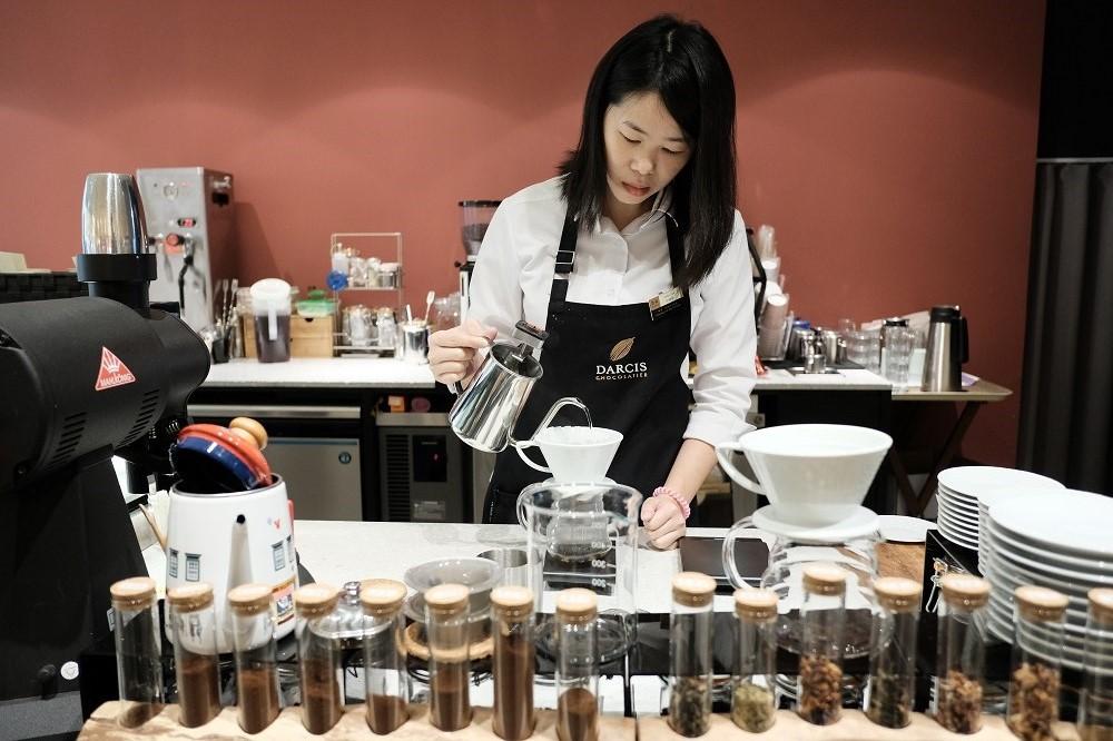 台北/微風廣場/未來肉/DARCIS Café/手沖莊園精品咖啡