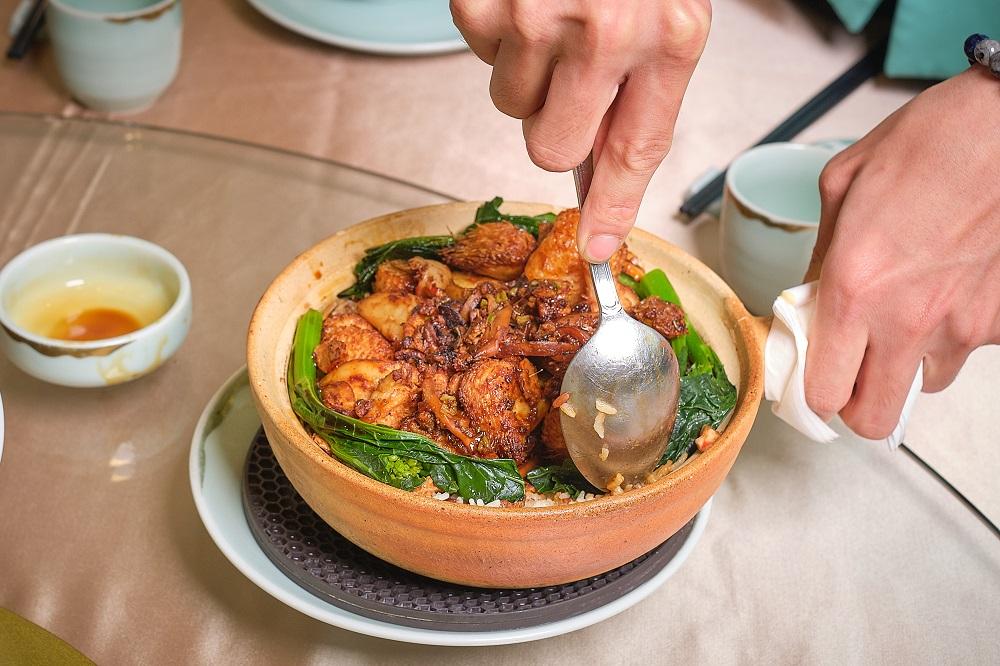 台北/信義區/心齋/新派蔬食餐廳/香港第一港式點心/猴頭菇煲仔飯
