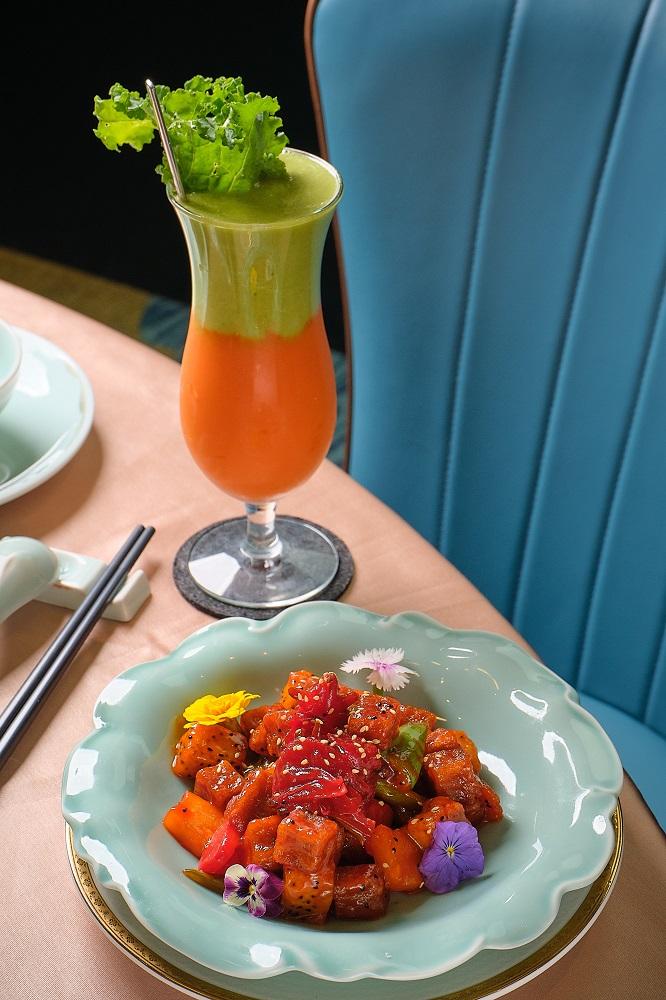 台北/信義區/心齋/新派蔬食餐廳/香港第一港式點心/咕嚕魔芋