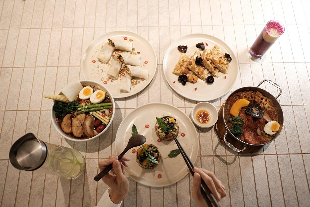 台北微風美食/人氣蔬食餐廳/本食/台灣味/庶民美食