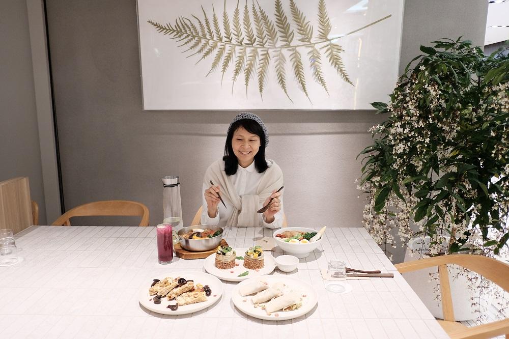 台北微風美食/人氣蔬食餐廳/本食/鄭惠方