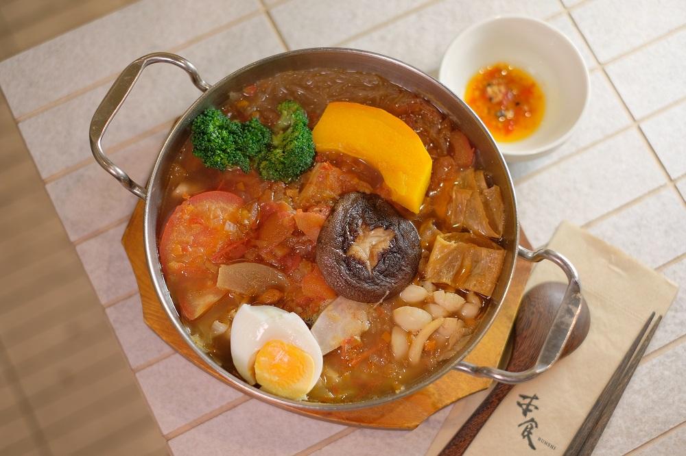 台北微風美食/人氣蔬食餐廳/本食/本食火鍋