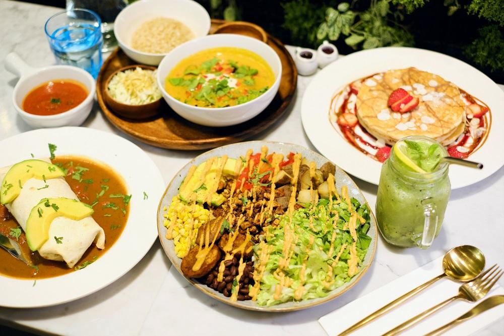 台北/新光三越信義/蔬食餐廳/Herbivore草食動物