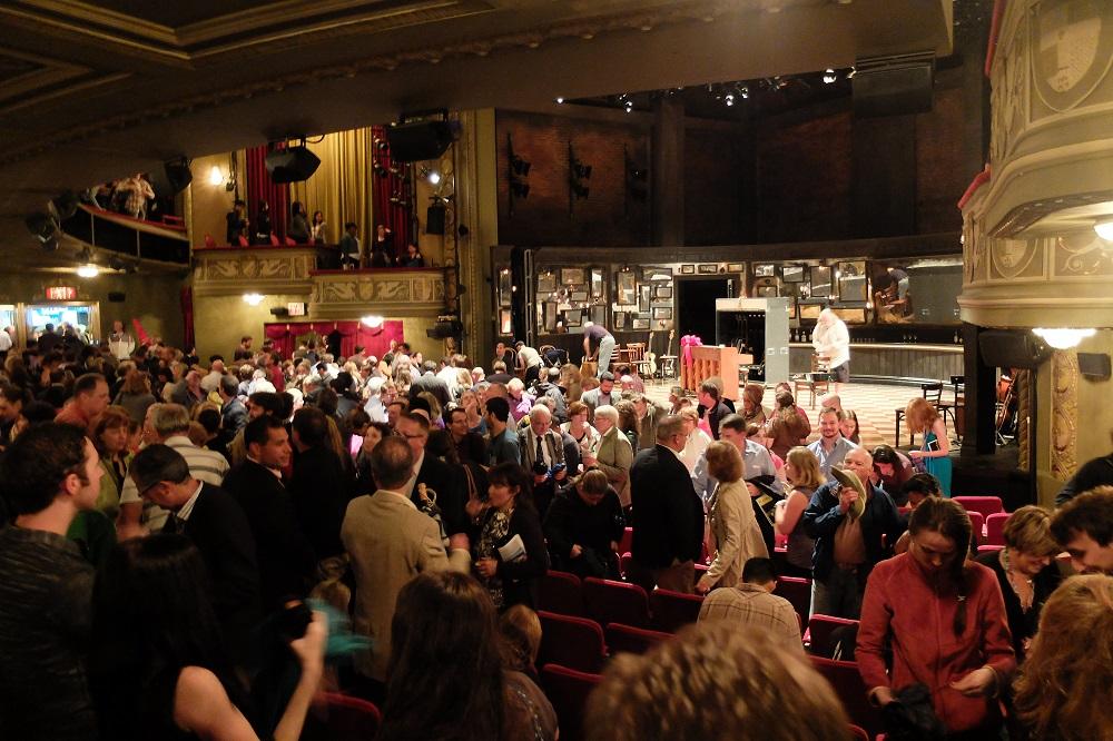 紐約/曼哈頓中城/百老匯/經典舞台劇/劇場內