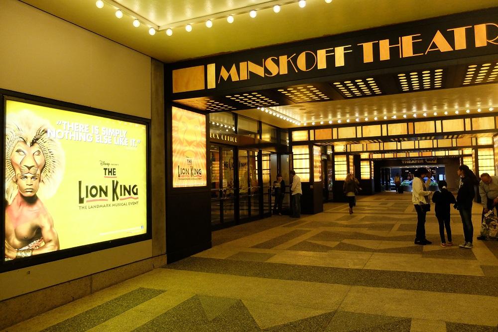 紐約/曼哈頓中城/百老匯/經典舞台劇/獅子王