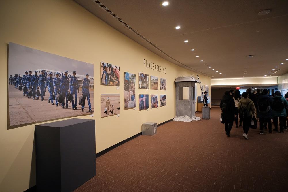 紐約/曼哈頓中城/聯合國總部/聯合國大樓/內部參觀