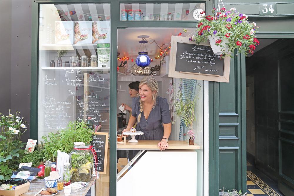 La Guinguette d'Angèle/巴黎/法國/美食/文青/蔬食/生活風格