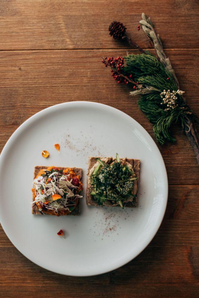 Plants/台北/台灣/美食/蔬食/植物性/裸食/全食物/北歐開面三明治