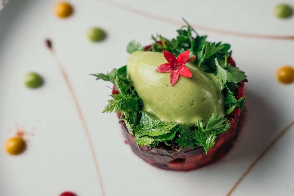台北/蔬食套餐/侯布雄法式餐廳/L'Atelier de Joël Robuchon Taipei