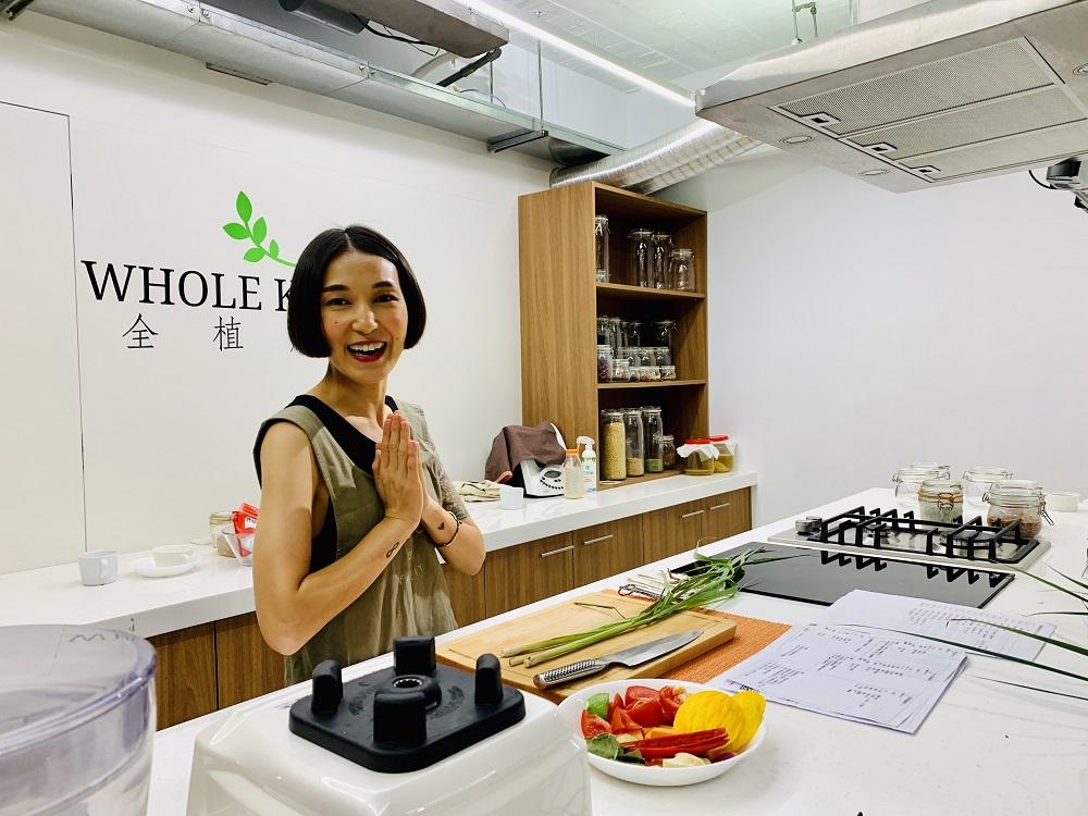 台北/蔬食餐廳/WHOLE Kitchen全植廚房/蔬食新浪潮/植物奶課程