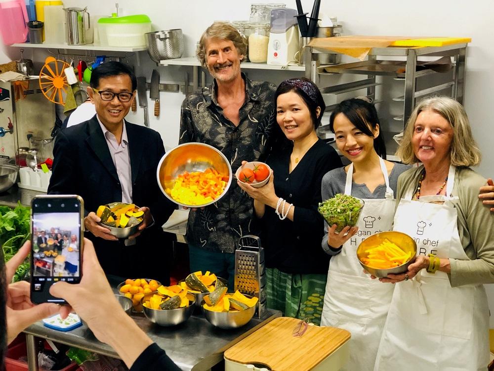 台北/蔬食餐廳/WHOLE Kitchen全植廚房/威爾塔托夫人