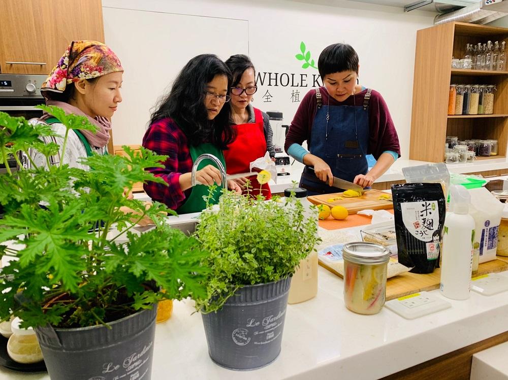 台北/蔬食餐廳/WHOLE Kitchen全植廚房/蔬食新浪潮/節氣發酵食