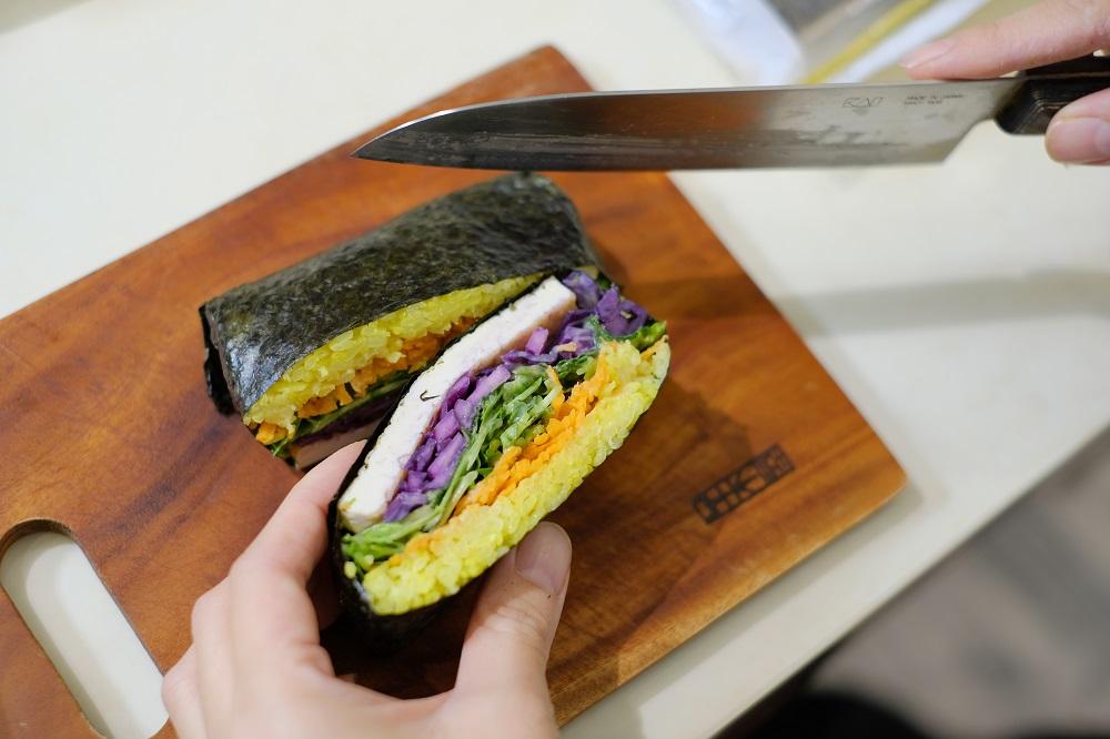 台北/蔬食套餐/Vk純淨素工作室/蔬食同好體驗/壽司