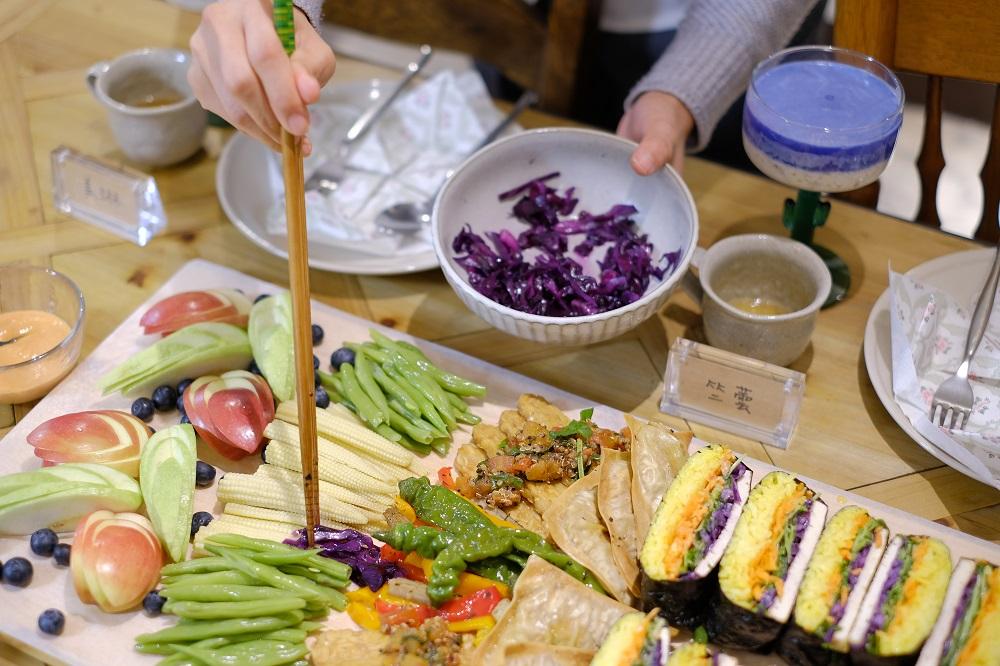 台北/蔬食套餐/Vk純淨素工作室/蔬食同好體驗