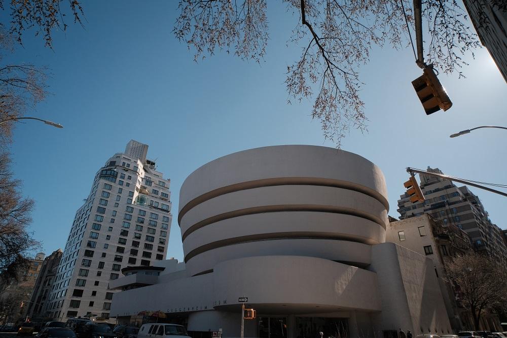 紐約/古根漢美術館/建築藝術/Frank Lloyd Wright