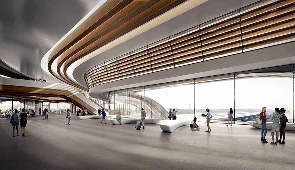 Ülemiste碼頭/Zaha Hadid/愛沙尼亞塔林/設計建築/波羅的海鐵路