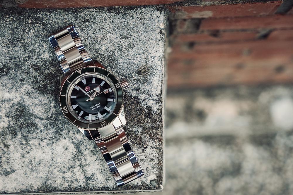 雷達表Captain Cook庫克船長300米復刻自動腕錶/旅人誌/TRAVELER luxe