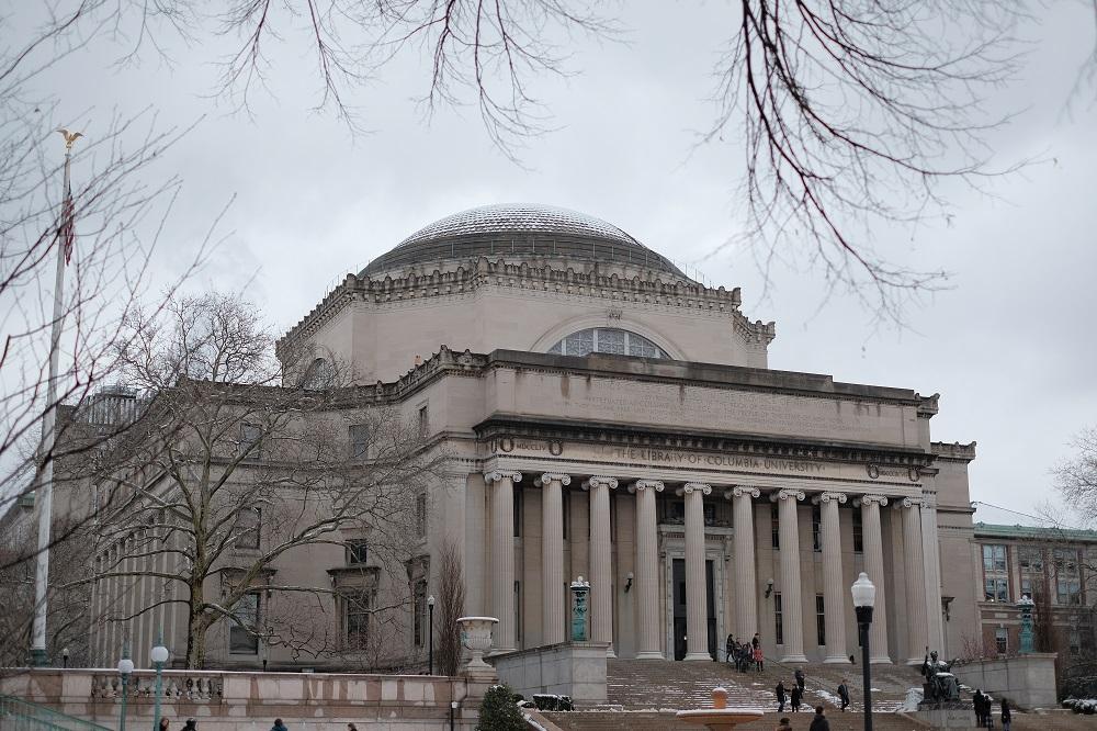 紐約/曼哈頓/哥倫比亞大學/常春藤名校/最貴學費/洛氏紀念圖書館