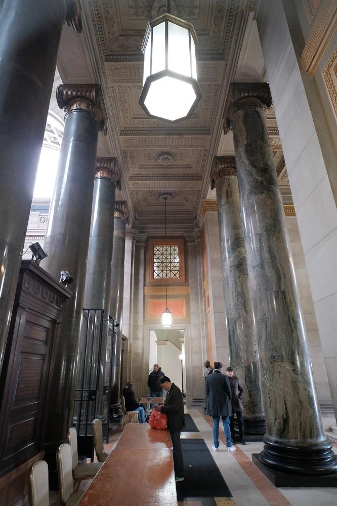 曼哈頓/哥倫比亞大學/常春藤名校/圖書館內部